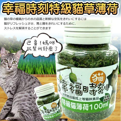 【培菓幸福寵物專營店】幸福時刻》頂級貓草細葉100ml/瓶