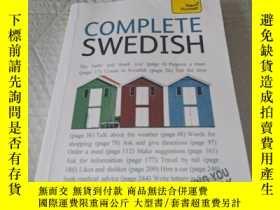 二手書博民逛書店Teach罕見Yourself Complete Swedish