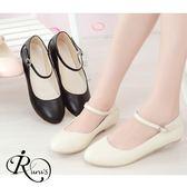 韓系小清新甜美平底娃娃包鞋/3色/35-42碼(RX0329-320) iRurus 路絲時尚