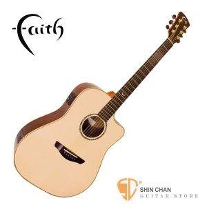 英國 Faith FSCEHG 可插電 全單板民謠吉他  【木吉他/印尼廠/附原廠硬盒】
