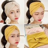 坐月子帽子2021春夏產後防風產婦頭巾棉薄款透氣時尚韓發帶5月份6 幸福第一站