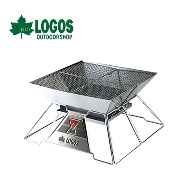 【LOGOS 日本 紅標焚火台EVO-XL】81064101/露營/烤肉/燒烤