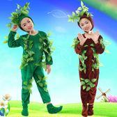 環保服裝兒童大樹演出服花草樹木造型服飾大樹小樹表演服舞台話劇  沸點奇跡
