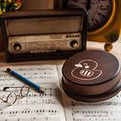 幸福森林.木製 發條式選轉音樂盒 客製化...