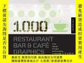 二手書博民逛書店1,000罕見Restaurant Bar And Cafe GraphicsY364682 Luke Her