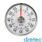 【日本DRETEC】錶型磁鐵計時器-白色