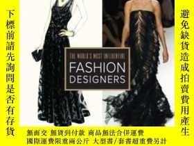 二手書博民逛書店The罕見World s Most Influential Fashion Designers-世界上最有影響力的