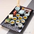 紫砂功夫茶具套裝整套陶瓷客廳家用茶道茶壺...