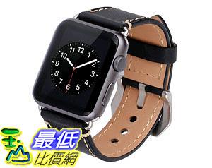 [105美國直購] 蘋果錶帶 42mm iWatch Band Strap Premium Vintage Genuine Leather Replacement Watchband Secure M002BM