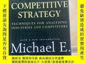二手書博民逛書店COMPETITIVE罕見STRATEGY 競爭戰略 16開 02Y366445 如圖 如圖
