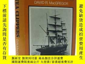 二手書博民逛書店1972年一版《中國茶船》罕見The Tea Clippers. An account of the China