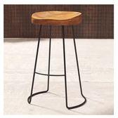 吧台桌實木組合原木實木酒吧台桌椅靠牆復古長條陽台高架休閒窄桌