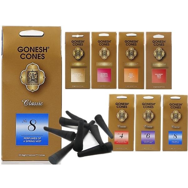GONESH 美國精油線香品牌 精油香塔(25入)多款香味【小三美日】