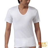 宜而爽  3件組精典時尚型男紋短袖U領衫