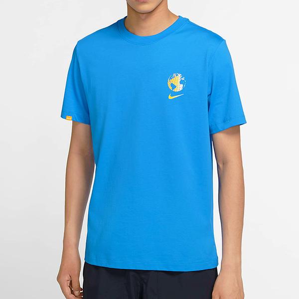 【現貨】Nike Sportswear Worldwide 男裝 短袖 地球 東京 休閒 藍【運動世界】CW5836-435