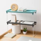 摺疊廚房置物架調料架調味品架子家用臺面廚具瀝水收納架ATF 米希美衣