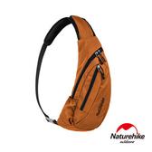 Naturehike 6L多功能防水單肩斜背包 胸前包橘色