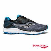 SAUCONY RIDE 10 專業訓練鞋款-藍灰x黑x海藍