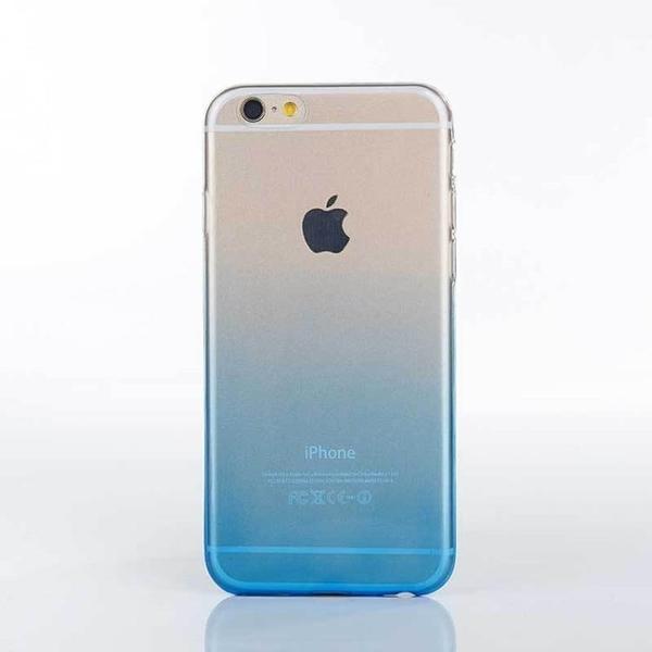手機配件 適用iphone7彩色漸變TPU透明手機殼閃紙全包防摔蘋果7plus保護殼手機殼 手機套 皮套