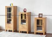 [紅蘋果傢俱]US-L005 實木 電視機邊櫃 立櫃 角櫃 北歐 日式 簡約 置物架