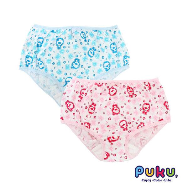 【奇買親子購物網】PUKU 女童印花內褲(2入)