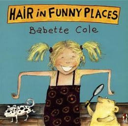 HAIR IN FUNNY PLACE /單繪本