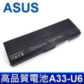 ASUS 華碩 9芯 A33-U6 日系電芯 電池 A32-U6 A33-U6 A31-U6 90-ND81B1000T U6E U6EP VX3 Series N20 N20A Series