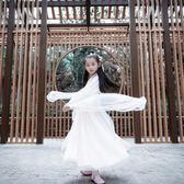 舞蹈裝 兒童漢服女小孩改良中國風公主演出服女童古裝仙女涼涼舞蹈服裝 夢藝家
