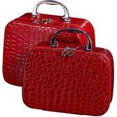 化妝箱 便攜大容量化妝品收納盒簡約小號淑女可愛防水旅行袋 KB2892【野之旅】TW