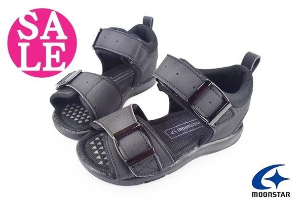 Moonstar 月星 Carrot男童涼鞋 輕量 吸汗 兒童休閒涼鞋G9682#黑色◆OSOME奧森鞋業  零碼出清