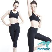 【美國原裝MARENA】魔力輕塑中腰七分塑身褲/顯瘦機能內搭褲