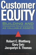 二手書《Customer Equity: Building and Managing Relationships as Valuable Assets》 R2Y ISBN:0875847641