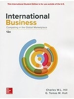 二手書博民逛書店《International Business: Competing in the Global Marketplace》 R2Y ISBN:9781260092349