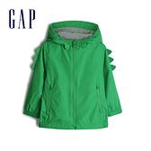 Gap 男幼童 活力亮色針織內裡外套 542000-翠綠