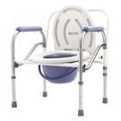 老年人移動馬桶椅坐便椅子殘疾人病人坐便器大便椅凳可摺疊坐廁椅 小山好物