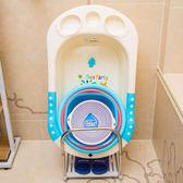 落地盆架寶寶澡盆洗臉盆吸盤式防滑衛生間廁所盆架子   夢曼森居家