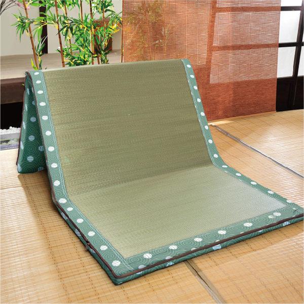 台灣製 藺草日式床墊-單人