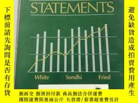 二手書博民逛書店The罕見Analysis and Use of FINANCI