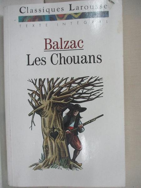 【書寶二手書T1/原文小說_B2M】Chouans -Les_法文_Honor? De Balzac