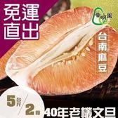 普明園. 預購-嚴選台南麻豆40年老欉紅柚5台斤/箱(共2箱)【免運直出】
