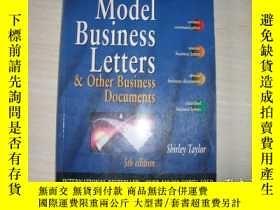 二手書博民逛書店MODEL罕見BUSINESS LETTERS & Other Business Documents【642】