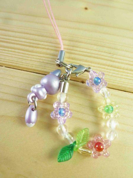【震撼精品百貨】Hello Kitty 凱蒂貓~限定版手機吊飾-北海道(紫狐)