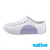 native JEFFERSON BLOCK 奶油頭休閒鞋 - 紫半圓 8872