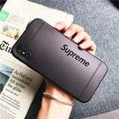 【紅荳屋】iPhoneX 暗紋supreme手機殼 新款iphone7/8手機保護套