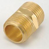 水電材料 風壓接頭 氣壓缸用 快速接頭 風用 銅接頭 雙外牙 1/4 PT*1/8 PT
