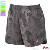 ASICS亞瑟士 女慢跑短褲(黑灰雲朵) 路跑褲 運動短褲 後腰口袋 2015新款