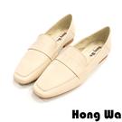 高等級牛皮 舒適透氣柔軟 簡單樂福鞋造型 好穿脫 官方Line ID請搜尋:@hqg0815z