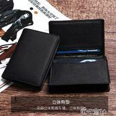 男士商務卡包名片包牛皮名片夾女式大容量信用卡訂製名片盒 港仔會社