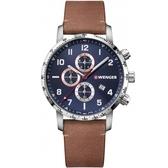 瑞士WENGER Attitude Chrono計時時尚腕錶  01.1543.108