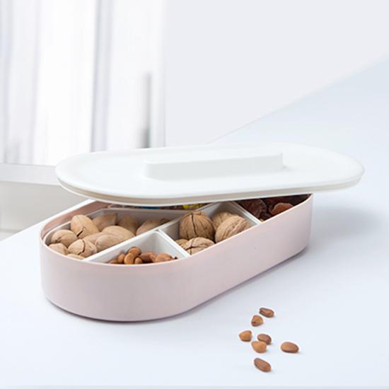 創意堅果分格盤 餅乾 水果 造型 收納盒 乾果盤 創意 糖果盤 瓜子盤 【P602】 生活家精品